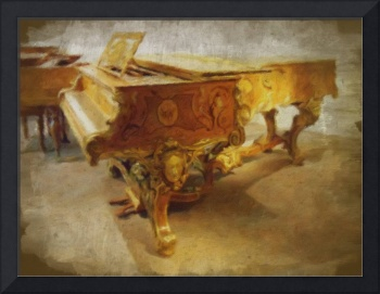 The Gold Piano by Leslie Harlow