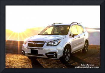 Subaru Forester at Sunset