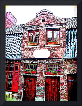 Old house in Ghent