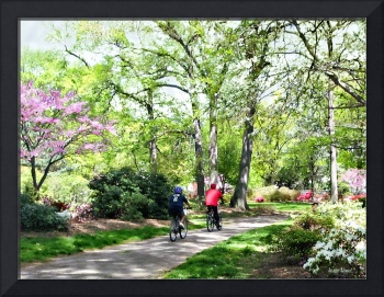 Bicycling in Spring