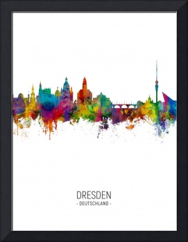 Dresden Germany Skyline