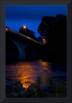 River Dee at night