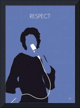 No188 MY ARETHA FRANKLIN Minimal Music poster