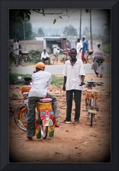 Boda Boda drives in Kenya