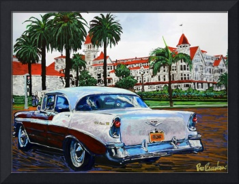 Cruising Coronado California by Riccoboni