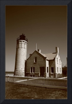 Lighthouse - Mackinac Point, Michigan 2010