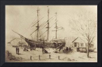 Whaling Ship Charles W. Morgan