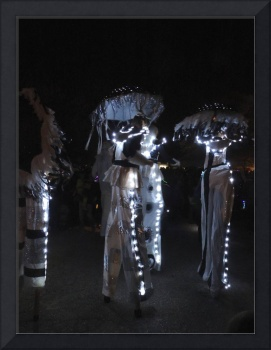 Stilt Walkers In The Patterson Park Lantern Parade