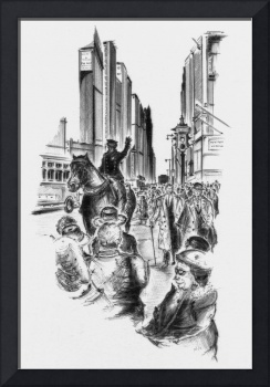 5th Avenue - New York Art Drawing