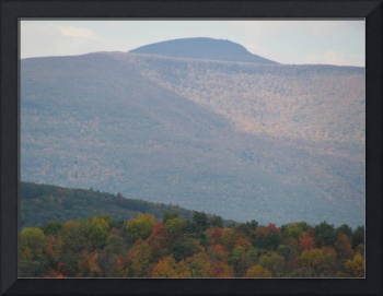 Catskill Mountains through Autumnal Mist 4