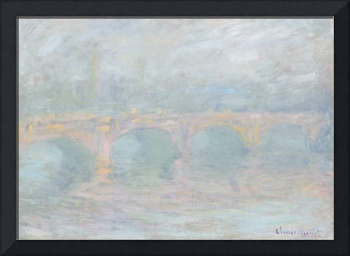 Waterloo Bridge, London, at Sunset by Claude Monet