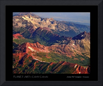 Colorful Colorado PLANET eARTh Poster