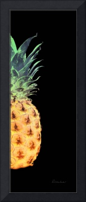 14RR Abstract Expressive Pineapple Digital Art