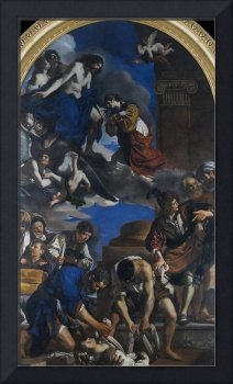 Guercino~Burial of Saint Petronilla
