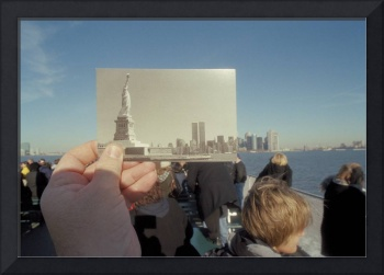 New York, Statue of Liberty & The Twin Towers
