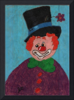 25-Clown-crayon-1986