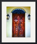 Alamos Doorway #4 by John Corney