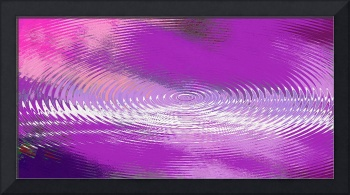 ORIGINAL FINE ART DIGITAL ABSTRACT GALAXIE VIOLET