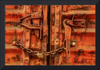 Old Train Doors