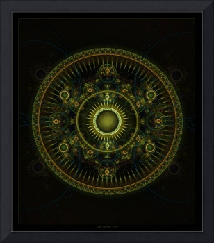 Metatron's Magick Wheel - Fractal Art