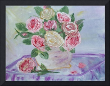 My Shabby Pink Roses