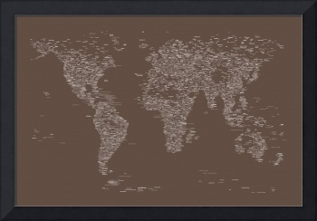 World Map of Cities