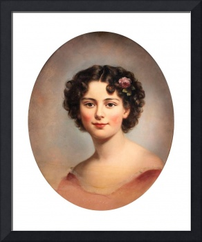 Thomas Sully~Portrait of Euphemia Parker Grubb