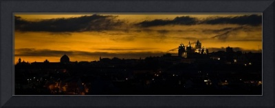 Evora Panoramic Sunset