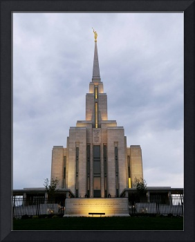Oqurrih Mountain LDS Temple (Wide)