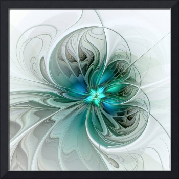 Abstract with Blue