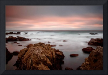 65 seconds of sunset - ocean seascape