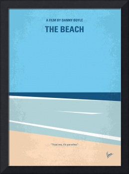 No569 My The Beach minimal movie poster