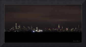 Manhattan Skyline at Twilight 3
