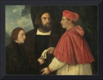 Titian  and Workshop~Girolamo and Cardinal Marco C