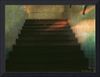 Stairs in the Old Cantina