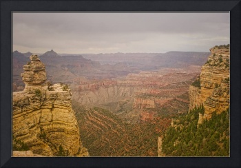 Grand Canyon Overlook View