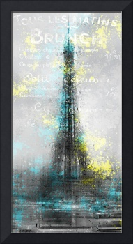 City-Art PARIS Eiffel Tower LETTERS