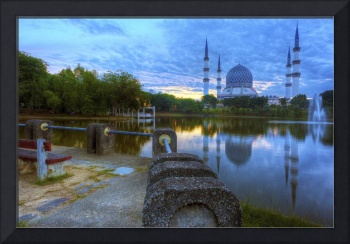 Front Row Seat - Sunrise at Shah Alam Mosque