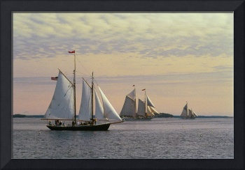 Schooners Return to Camden Harbor