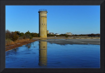 Fort Miles Fire Control Tower 3 Icy Reflections