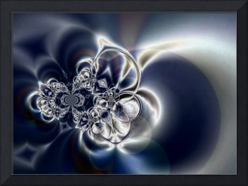 Abstract Art Silver Sense