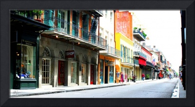 French Quarter Shops Panoramic