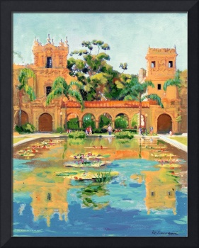Two Towers in Balboa Park by RD Riccoboni