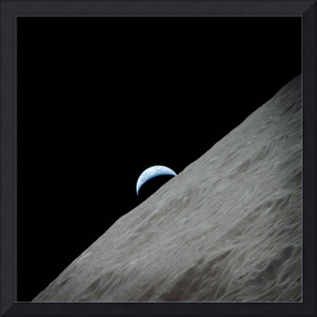 The Earth from Moon by NASA
