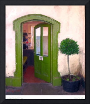 Green Door, Bray Station