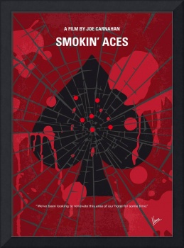 No820 My Smokin Aces minimal movie poster
