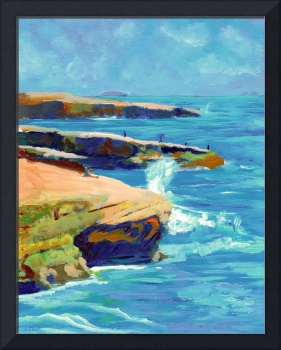 Point Loma, Sunset Cliffs by RD Riccoboni