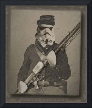 Storm Trooper Star Wars Antique Photo