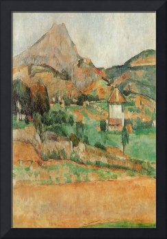 Cezanne 1902 Mount Saint Victiore - PD Image