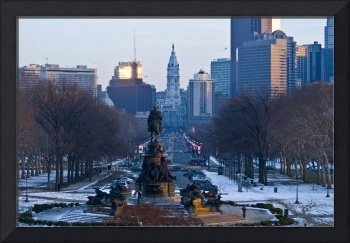 Art Museum View of Philadelphia